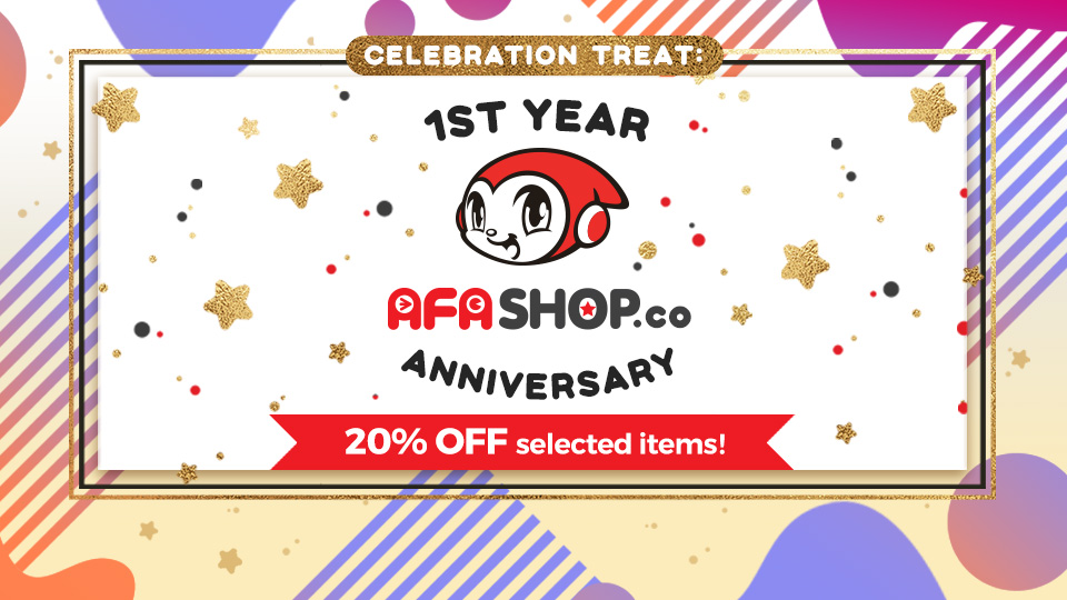 AFASHOP 1ST Anniversary Sale