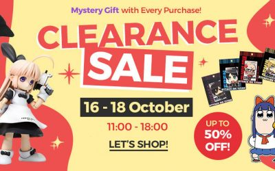AFASHOP.co Clearance Sale! 16-18 October