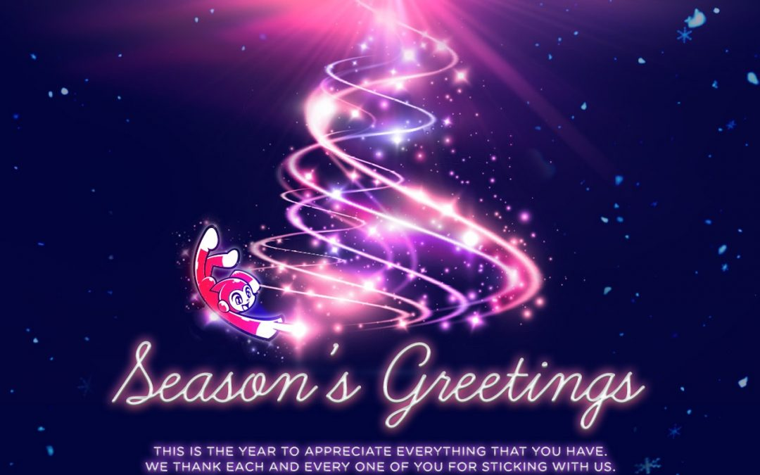 Season's Greetings and we have moved!